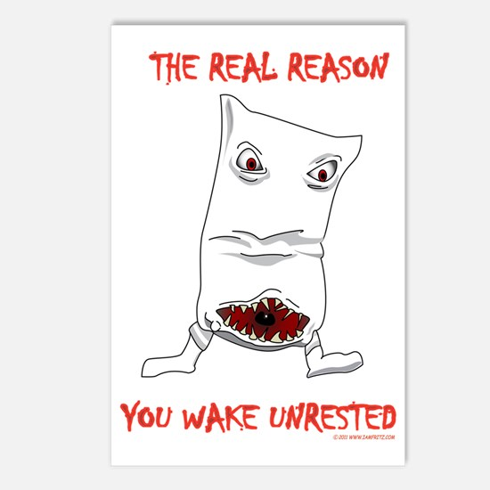 reason_you_have_bad_dream Postcards (Package of 8)