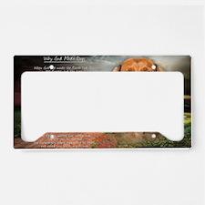 godmadedogs(carmag) License Plate Holder