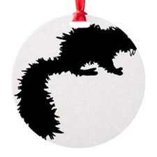 Fanged Squirrel Ornament