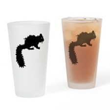 Fanged Squirrel Drinking Glass