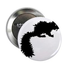 "Fanged Squirrel 2.25"" Button"