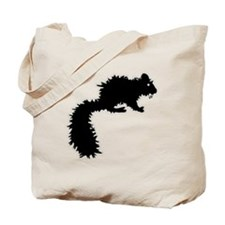 Fanged Squirrel Tote Bag