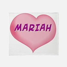 MARIAH01 Throw Blanket
