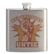 Bad Spellers Untie blk Flask