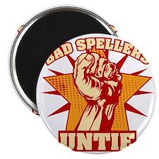 Bad Spellers Untie blk Magnet