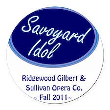 sav idol store Round Car Magnet