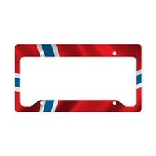 norway License Plate Holder