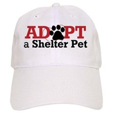 Adopt a Shelter Pet Baseball Cap