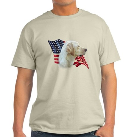 Yellow Lab Flag Light T-Shirt