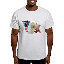 Yellow Lab Flag T-Shirt