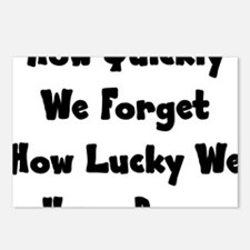 lucky Postcards (Package of 8)