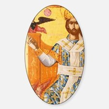 Christ in Majesty from the church o Sticker (Oval)