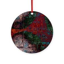 coppertone remix Round Ornament