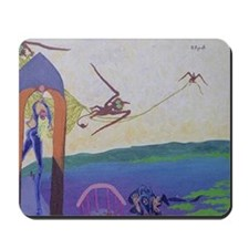 Theft of the bell Mousepad