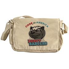 CfA Honey Badgers Messenger Bag