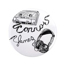 "connor james sketch png 3.5"" Button"