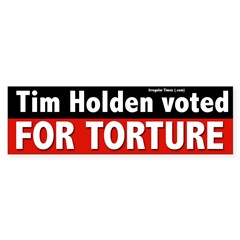 Tim Holden for Congress Bumper Bumper Sticker