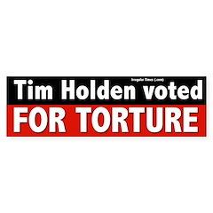 Tim Holden for Congress Bumper Bumper Sticker