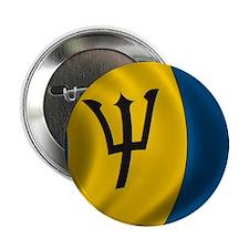 """barbados_flag 2.25"""" Button"""