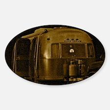 AIRSTREAM CEPIA Sticker (Oval)