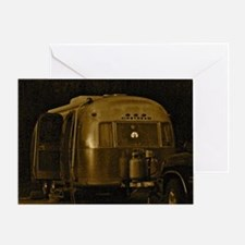 AIRSTREAM CEPIA Greeting Card