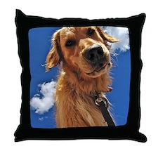 GOLDEN RETRIEVER T-SHIRT Throw Pillow