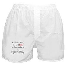 Belgian Sheepdog World Boxer Shorts