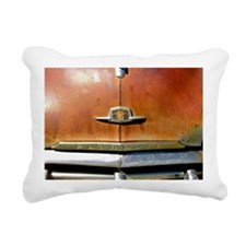 VINTAGE CAR HOOD Rectangular Canvas Pillow