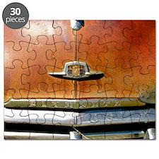 VINTAGE CAR HOOD Puzzle