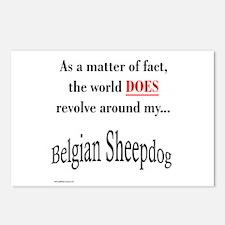 Belgian Sheepdog World Postcards (Package of 8)