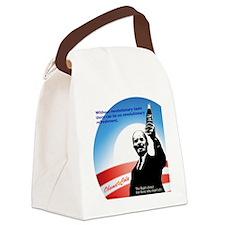 leninbottlecirc Canvas Lunch Bag