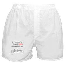 Belgian Tervuren World Boxer Shorts