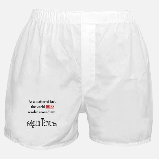 Belgian Tervuren World Boxer Shorts