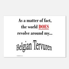 Belgian Tervuren World Postcards (Package of 8)