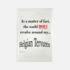 Belgian Tervuren World Rectangle Magnet
