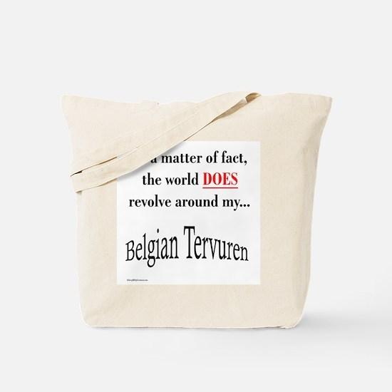 Belgian Tervuren World Tote Bag
