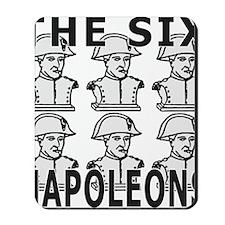 SixNapoleons_white Mousepad