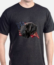 Neapolitan Mastiff Flag T-Shirt
