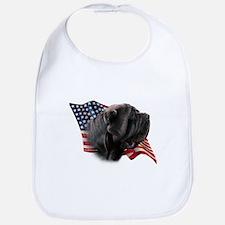Neapolitan Mastiff Flag Bib