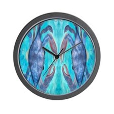 Blue Crab Wall Clock