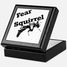 RallySquirrelWhite Keepsake Box
