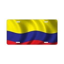 colombia_flag Aluminum License Plate