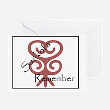 Sankofa Remember 2 Greeting Card