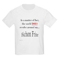 Bichon Frise World Kids T-Shirt
