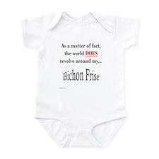 Bichon Frise World Infant Bodysuit