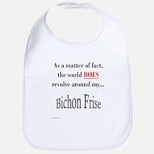 Bichon Frise World Bib
