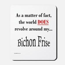 Bichon Frise World Mousepad