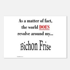 Bichon Frise World Postcards (Package of 8)