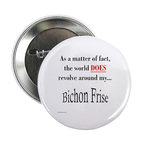 Bichon Frise World Button