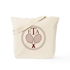 ETA Logo (maroon) Tote Bag